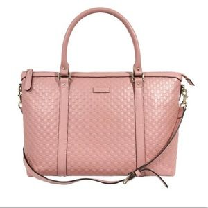 Gucci 💯 % Authentic pink leather Satchel